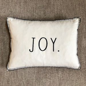 Rae Dunn Joy pillow